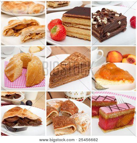 Desserts Collage