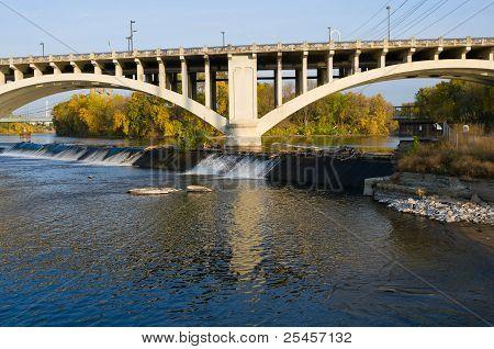Third Avenue Bridge And Nicollet Island