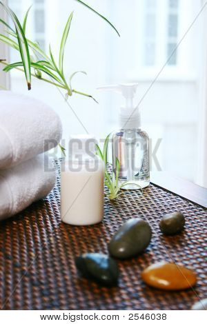 Body Care On Table