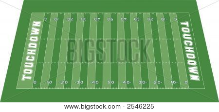 Football Field Perspective