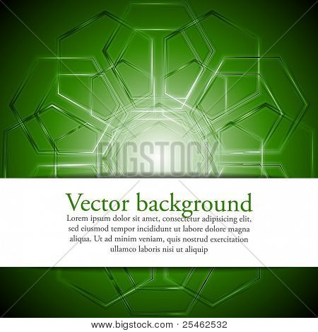 Abstract technical design. Eps 10 vector illustration