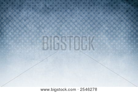 Halftone Background Blue