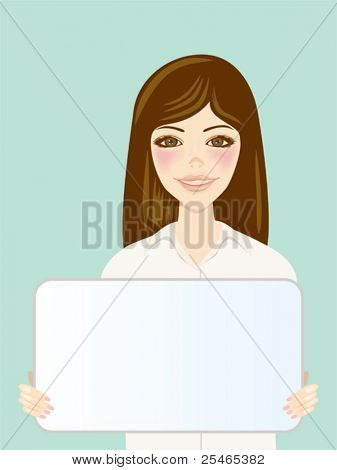 WHITE BOARD AND WOMEN