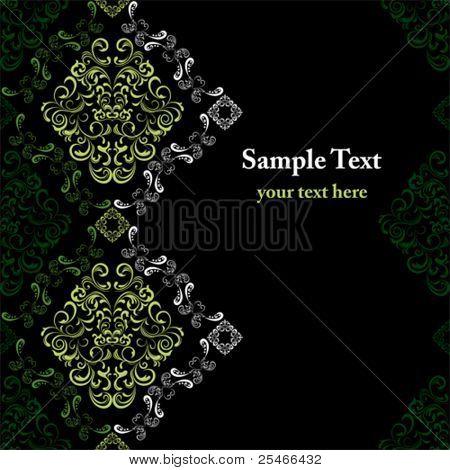 Abstract seamless stylish pattern. Illustration vector