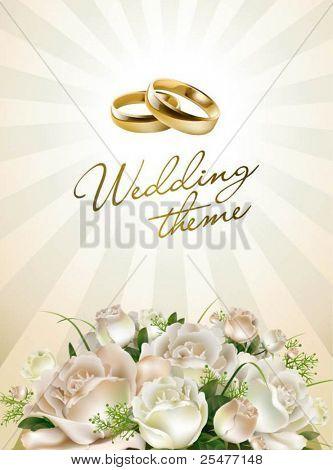Hochzeit-Hintergrund