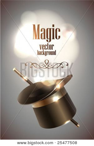 De fundo vector Magic