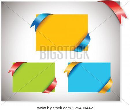 Multicolored Sale Tags.