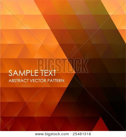 Geometric Pattern, Abstract Vector Background.