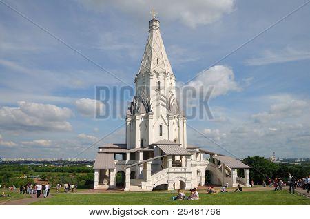 Moscow, Kolomenskoe, God rising temple.