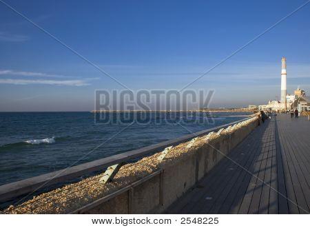 Promenade Of Tel Aviv