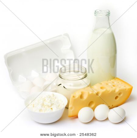 Fresh Eggs And Dairy Products