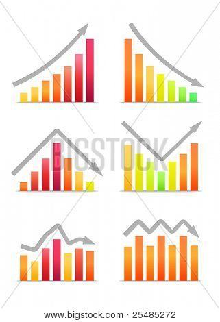 Businessgrafiken Einnahmen