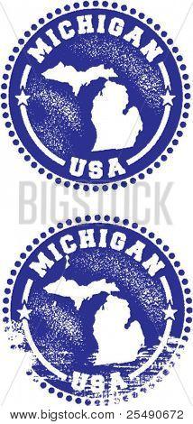 Michigan USA Stamps