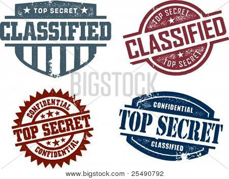 Vintage Top Secret Collection