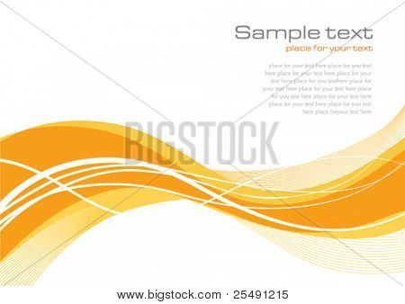 Yellow Orange Background