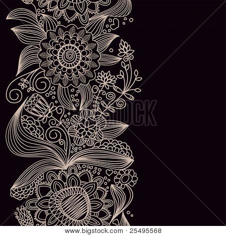 Floral seamless background. Vector file also available in my gallery
