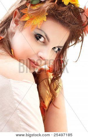 beautiful elven girl