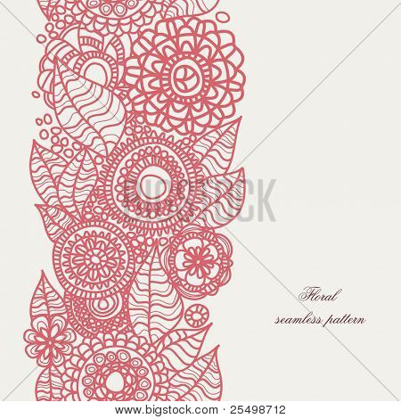 stilvolle floral Background (nahtlos)