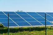 Photovoltaic or solar panel for renewable energy  poster