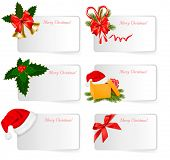 stock photo of polly  - Set of winter christmas banners - JPG