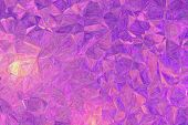 Handsome Abstract Illustration Of Purple And Magenta Impressionism Impasto Paint. Stunning  For Your poster