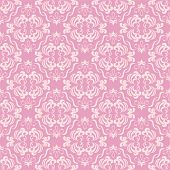 Seamless floral retro pattern