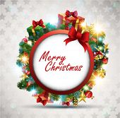 stock photo of christmas ornament  - Christmas Banner - JPG