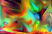 Vivid Wild Mixed Varied Abstract Surreal Vivid Explosion Colorful Background Image Wallpaper poster