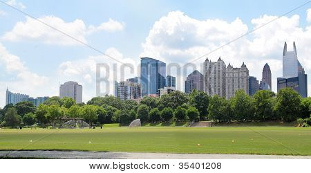 Atlant From Piedmont Park