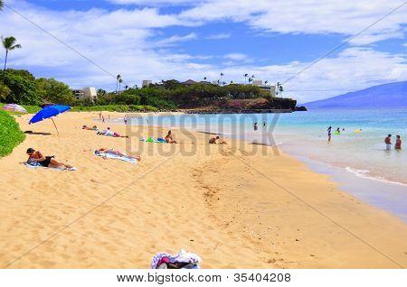 Kaanapali ocean beach