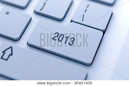 2013 Year Button