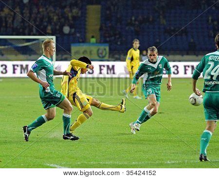 Fc Metalist Kharkiv Vs Fc Obolon Kyiv Football Match