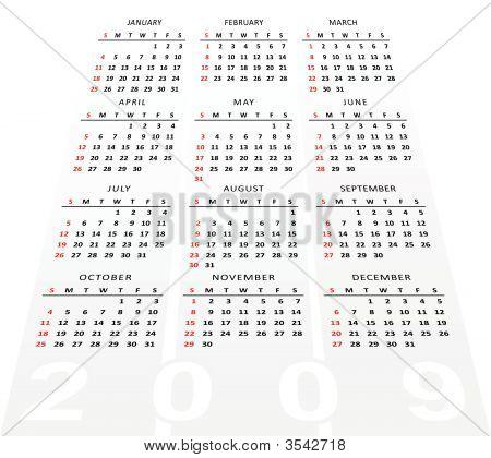Perspective Calendar.Eps