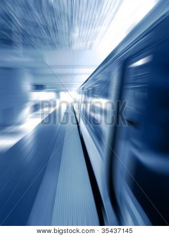 Subway Train Background