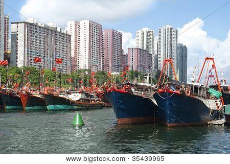 Fishing Boats In Aberdeen