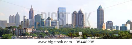 Atlanta Georgia Panoramic