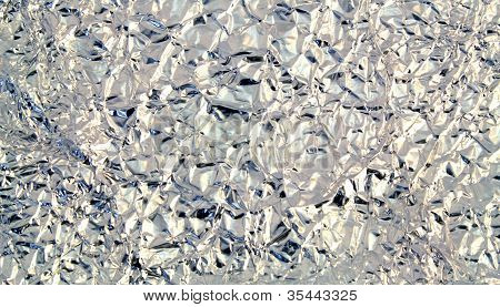 Aluminum Foil Background