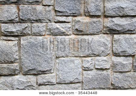 Stone Block Wall