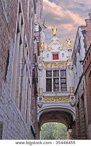Bruges, Blinde Ezelstraat