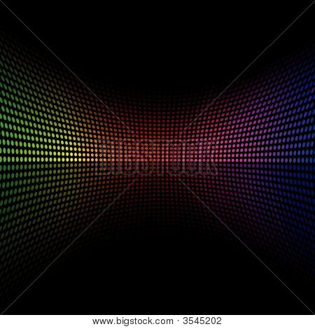 Colorful Doted Background