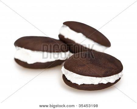 Whoopie pie chocolate dessert
