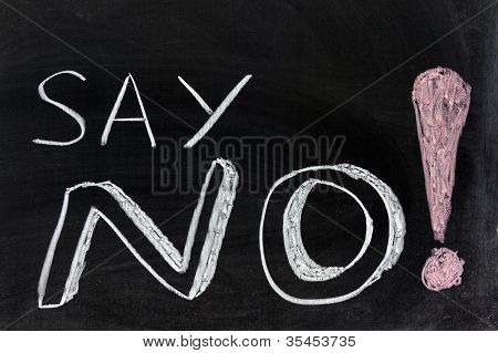 Say No!
