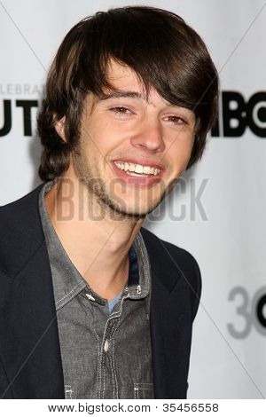 LOS ANGELES - JUL 22:  Matt Prokop arrives agt the 2012 Outfest Closing Night Gala of