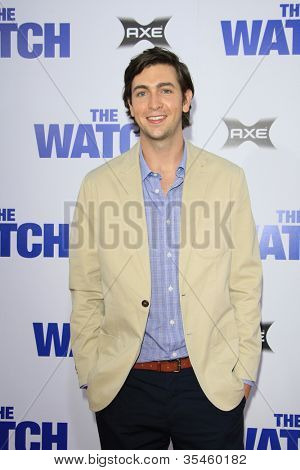 LOS ANGELES - JUL 23: Nicholas Braun at the premiere of