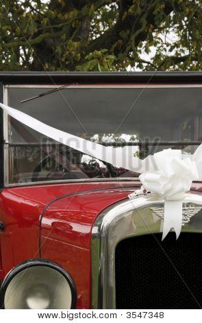 Old Vintage Wedding Car