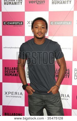 LOS ANGELES - JULY 25: Romeo at Billabong's 6th Annual Design For Humanity Event at Paramount Studios on July 25, 2012 in Los Angeles, California
