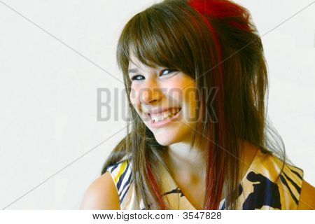 Smiling Teenager
