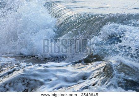 Waves In Stormy Ocean