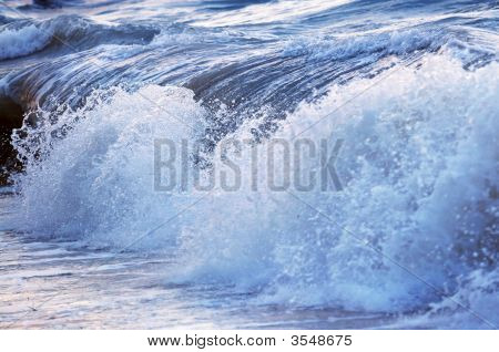 Wave In Stormy Ocean