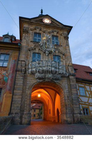 Altes Rathaus. Bamberg, Germany